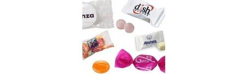 Reklám cukorkák