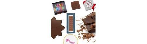 Reklám csokoládék, belga pralinék